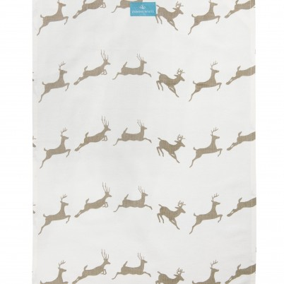 Leaping Stag tea Towel