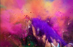 Holi-Colours