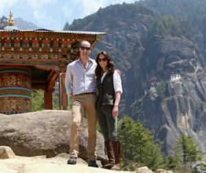 Duke and Duchess of Cambridge in Bhutan