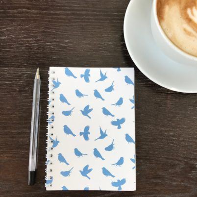 Birds of Paradise notebook in Delft by Jasmine White London