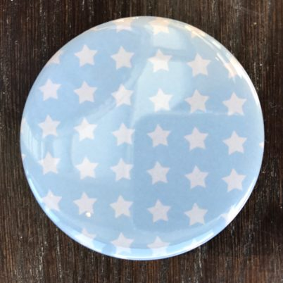 Blue Stars Pocket Mirror by Jasmine White London