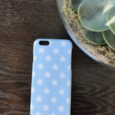 Blue Stars iPhone 6 case by Jasmine White London