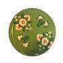 Jasmine White London Storage Jar in Sage Green White Posy