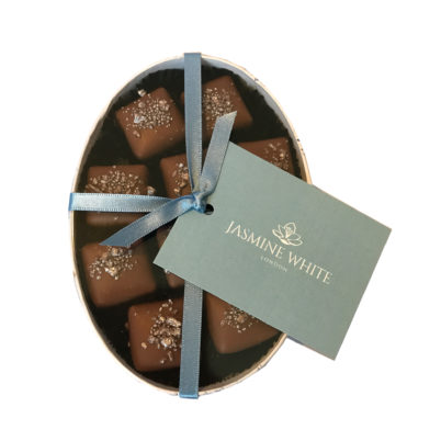 Jasmine White London Marc de Champagne Ganache
