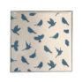 Jasmine White London' Birds of Paradise design Greeting card in Delft