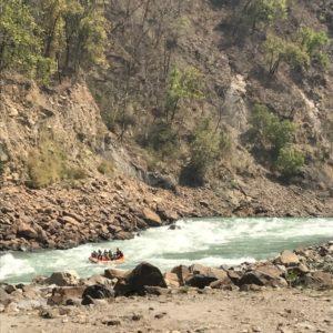 Rapid rafting on the Ganges © Jasmine White London